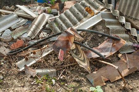 строительный мусор в частном доме